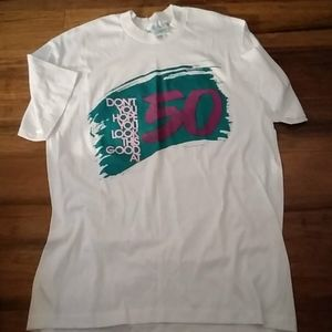 Vintage 80s graphic tee shirt womens large